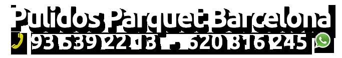 Pulir parquet Barcelona Logo